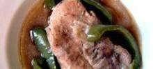 Green Pepper Pork Chops