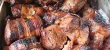grilled venison backstrap