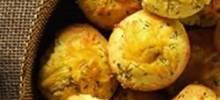 Ham and Cheddar Corn Muffins