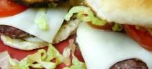 Hamburgers - t's in the Bun