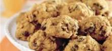 harvest pumpkin-oatmeal raisin cookies