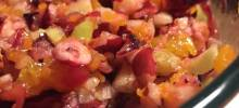 healthier cranberry salad