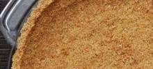 healthier graham cracker crust