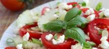 Herb 'n Honey Cucumber Tomato Salad