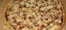 Husband-Friendly Chicken Pizza