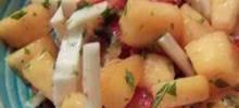 Jicama and Melon Salad
