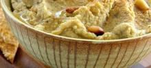 joe's hummus with pine nuts