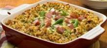 johnsonville® smoked sausage casserole