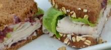 karla's nutty turkey cranwich
