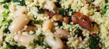 Kate's Kale Couscous