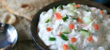 katie's yogurt veggie salad