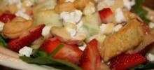 Kim's Spinach Strawberry Salad