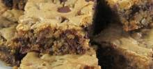Kirsten's Dark Chocolate Chip Cookie Bars