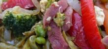 Leftover Ham and Vegetable Medley