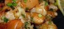 Lemon Ginger Shrimp