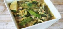 lemongrass coconut curry soup with zucchini noodles