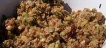Leslie's Broccoli, Wild Rice, and Mushroom Stuffing