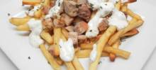 loaded halal cart fries