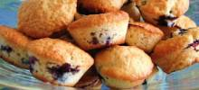 low-cholesterol blueberry muffins