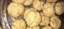 Low Sugar Oatmeal Raisin Cookie