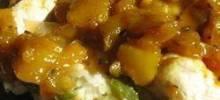 mango-pineapple chutney
