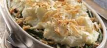 Mashed Potato Topped Green Bean Casserole