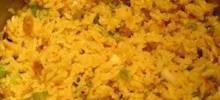 Mediterranean Rice Pilaf with Pistachios and Golden Raisins
