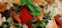 mid-summer talian bread salad