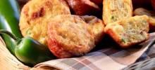 mini bacon-jalapeno-onion corn muffins