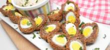 mini scotch eggs in the air fryer