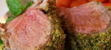 Mint Crusted Rack of Lamb