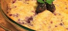 Mom Spraggins's Blackberry Cobbler