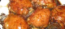 Mushroom-Stuffed Chicken Breasts in a Balsamic Pan Sauce
