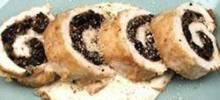 Mushroom Stuffed Chicken Rollups