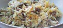 My Mom's Sausage & Rice Casserole