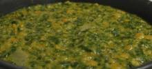 ndian Dahl with Spinach