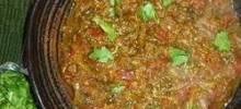 ndian Eggplant - Bhurtha