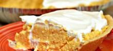 No-Bake Pumpkin Cheesecake Pie