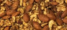 No Guilt Spiced Mixed Nuts