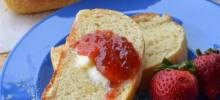 No-Knead English Muffin Bread