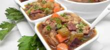 nstant pot® beef and barley soup