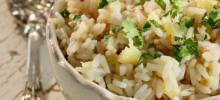 nstant pot® pineapple-coconut-lime rice