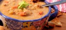 nstant pot® turkey cheeseburger soup
