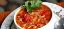 Oatmeal and Tomato Soup