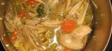Old-Fashioned Chicken and Noodles