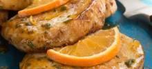 Orange-Sage Pork Chops