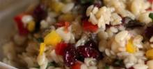 Orzo and Wild Rice Salad