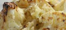 oven-roasted cauliflower