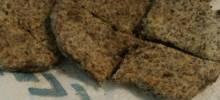 paleo 'crackers'