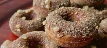 Paleo Gingerbread Mini Donuts